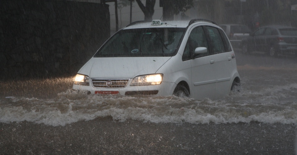 Chuva causa estragos em Belo Horizonte