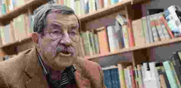 O poeta Günter Grass em sua casa na Alemanha (5/4/12) - EFE