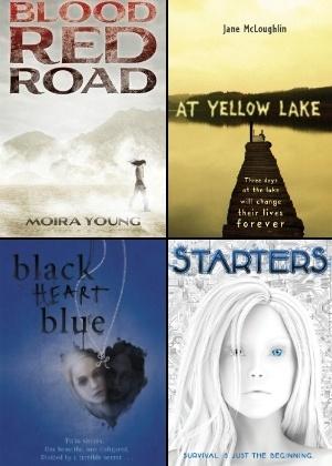Capas de quatro livros jovens que estão entre as apostas das grandes editoras para 2012 - Divulgação / Montagem UOL