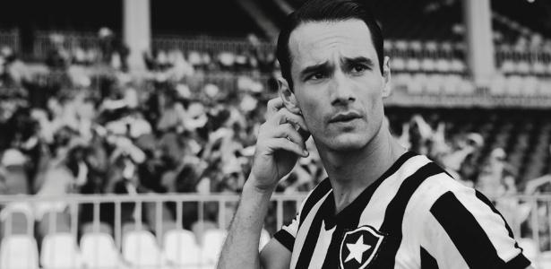 """O filme """"Heleno"""", com Rodrigo Santoro no papel de ídolo botafoguense da década de 1940, colocou o futebol também na agenda cultural do país - Divulgação"""