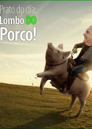 Corneta FC - Prato do dia: lombo do porco