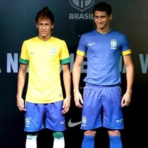 Neymar e Ganso gravam vinheta para a Record