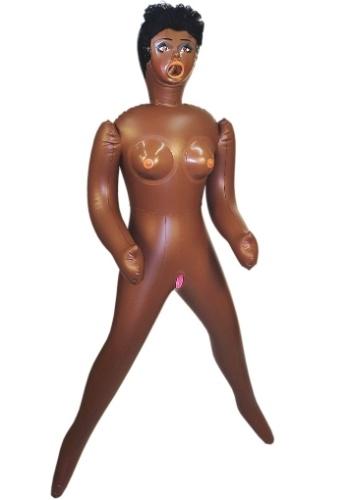 Boneca inflável Negra Jasmim da loja Sex Toy