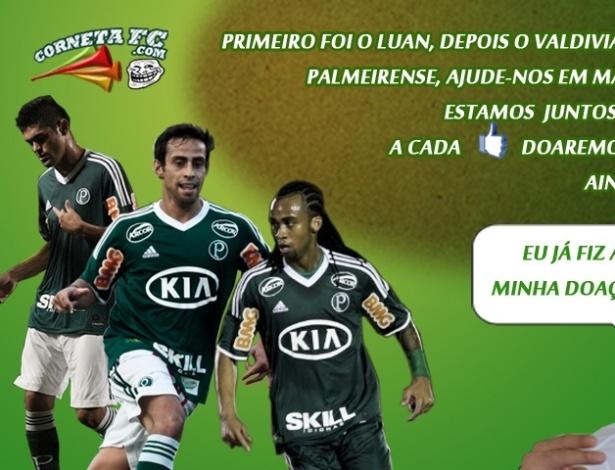 Corneta FC: Palmeiras lança nova campanha no Facebook
