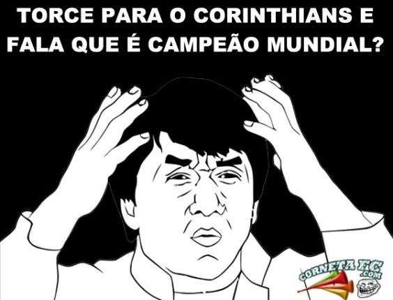 Corneta FC: Torce para o Corinthians e ainda fala que é campeão mundial?