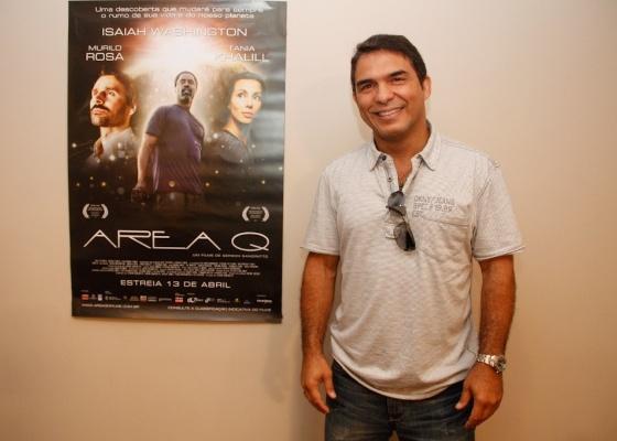 """Gerson Sanginitto, diretor de """"Área Q"""", falou sobre o longa nesta segunda-feira (9/4/2012)"""