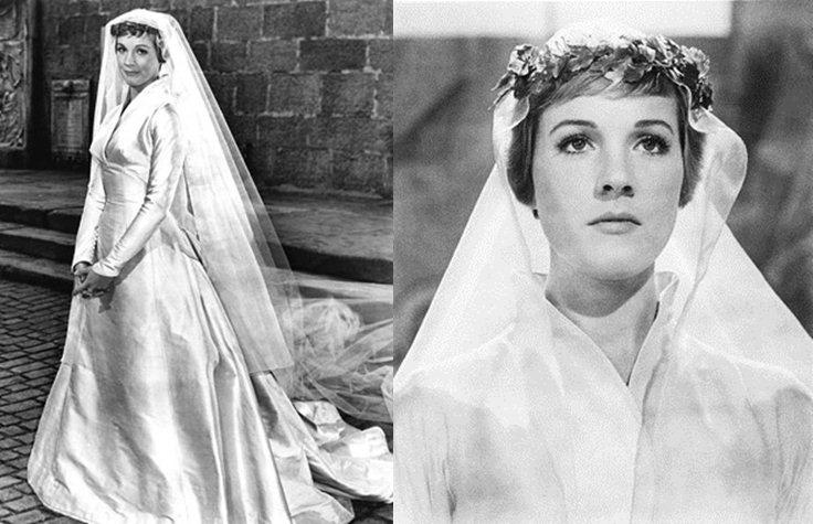 Noivas de cinema - Julie Andrews em