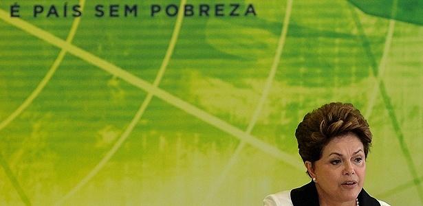 Presidente Dilma Rousseff durante anúncio de incentivos para a indústria, no último dia 3 - Agência Brasil