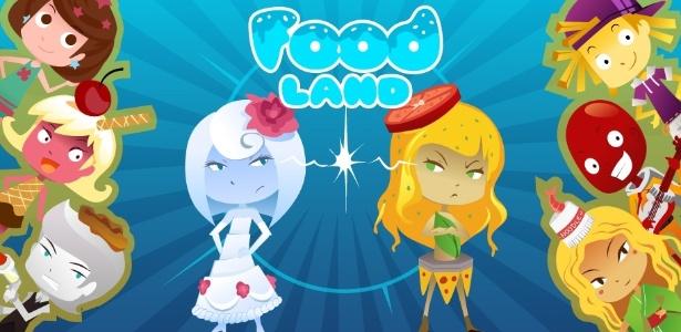 Duelo Foodland: dispute com personagens da Terra da Comida