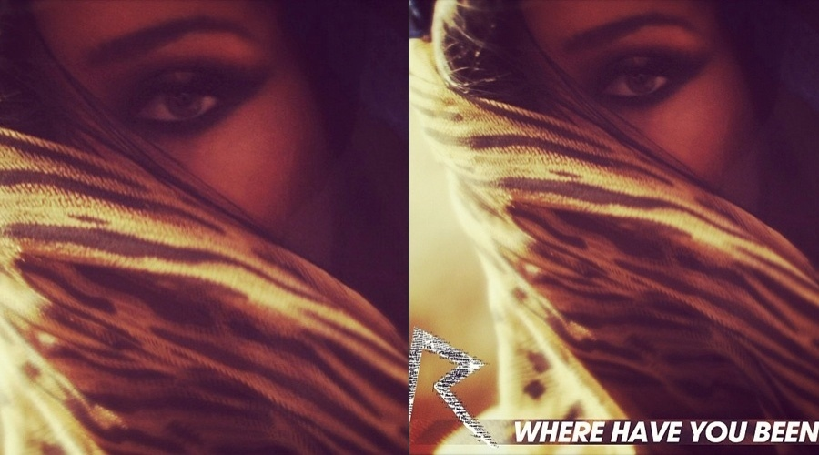 "Capa do novo álbum de Rihanna, ""Where Have You Been"" (11/4/2012)"