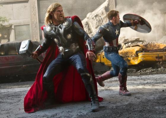 """Cena de """"Os Vingadores"""", de Joss Whedon"""