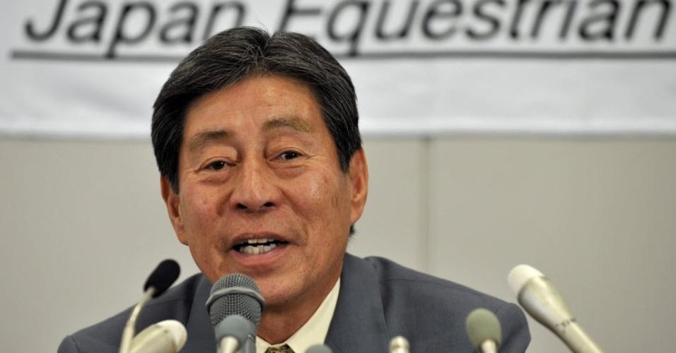 Hiroshi Hoketsu, 71 anos, será o atleta mais velho nos Jogos de Londres