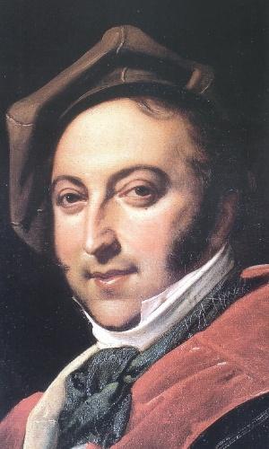 O compositor italiano Rossini