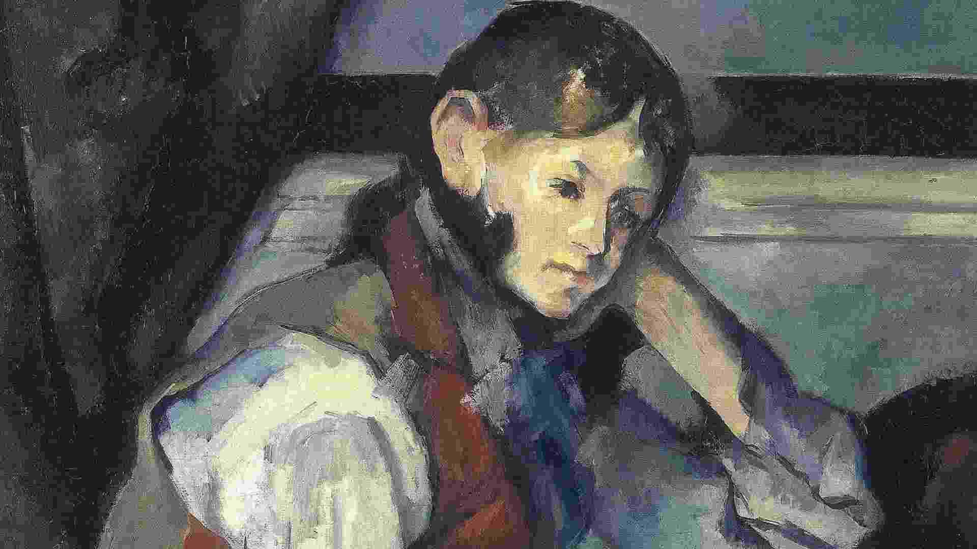 """Pintura """"O Menino de Colete Vermelho"""", de Paul Cézanne - EFE"""