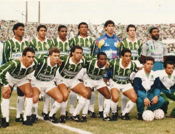 69862f17c3  diadacamisavelha  A polêmica marca que vestiu o Palmeiras campeão dos anos  90