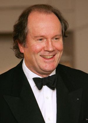 William Boyd em premiação literária em Londres - AFP
