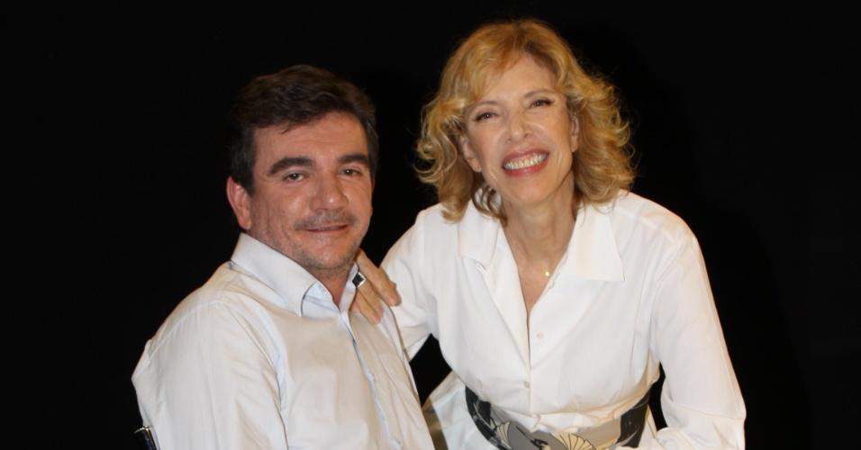 Andrés Sanchez grava participação no programa de Marília Gabriela