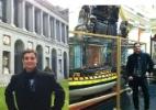 Ex-BBB Fael curte férias na Espanha e mostra foto pelo Twitter - Reprodução/Twitter