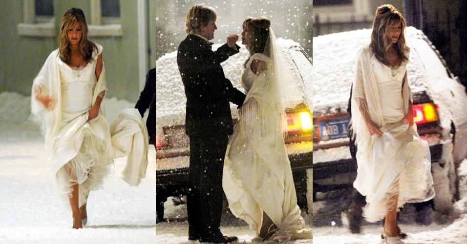 Noivas de cinema - Jennifer Aniston em