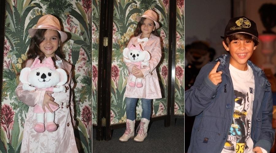 Mel Maia participa de desfile infantil realizado em hotel da zona sul do Rio (13/4/2012)