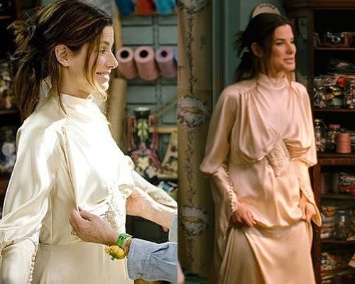 Noivas de cinema - Sandra Bullock em