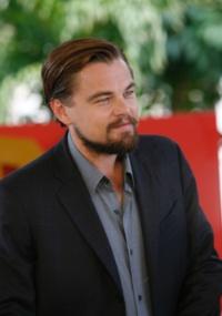 """Leonardo Di Caprio participa do evento Summer of Sony, onde divulga seu novo filme, """"Django Unchained"""", dirigido por Quentin Tarantino (15/4/12)"""