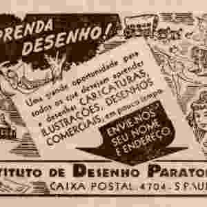 Anúncio do Instituto de Desenho para Todos, dos anos 1940 - Instituto Monitor
