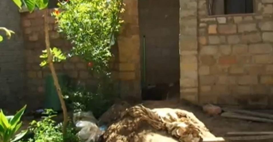Casa em Garanhuns (PE) onde o trio Jorge Negromonte, 50, Isabel Cristina, 51, e Bruna Cristina de Oliveira, 25, teriam matado, esquartejado e praticado canibalismo com duas mulheres
