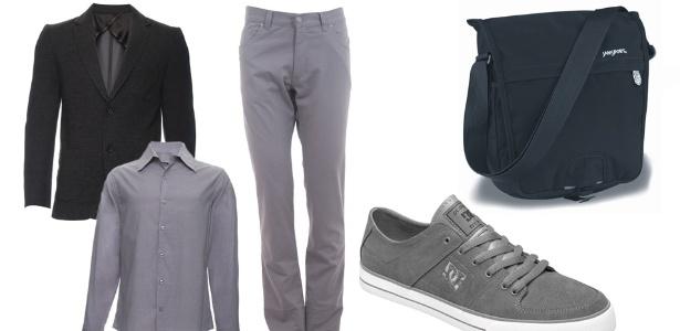 Conjunto monocromático com camisa e calça da mesma cor ou mesmo tom é ótima opção - Divulgação