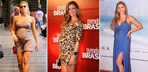Diferentes looks usados por Grazi Massafera grávida - Agnews