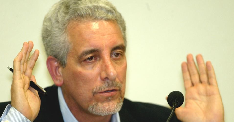 Henrique Pizzolato, ex-diretor do Banco do Brasil e membro do PT, um dos acusados no Mensalão