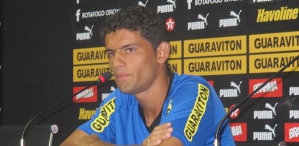 Jádson foi elogiado pelo técnico do Bota, após boa atuação na marcação de Deco - Bernardo Gentile/UOL Esporte