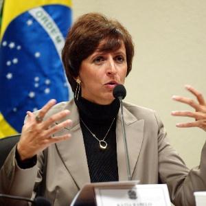 Kátia Rabello, presidente do Banco Rural na época do mensalão, foi condenada a mais de 16 anos - Sérgio Lima/Folhapress