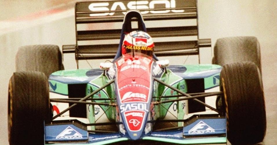No GP da Bélgica de 1994, Rubens Barrichello conquistou uma improvável pole position correndo de Jordan, mas acabou rodando e abandonando quando já tinha caído para o quinto lugar