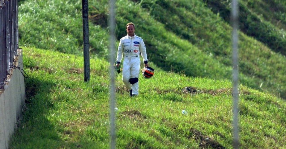No GP do Brasil de 1999, Barrichello largou em terceiro lugar pilotando uma Stewart e chegou a liderar por mais de 20 voltas, mas seu motor estourou na 42ª volta e ele voltou a pé para os boxes