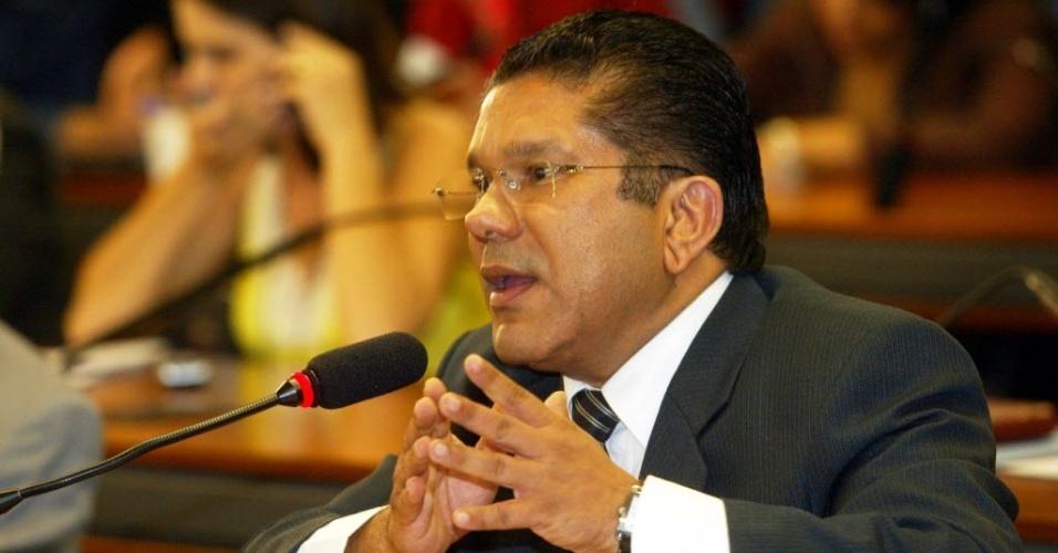 O deputado federal Sandes Júnior (PP-GO) é um dos parlamentares citados pela Polícia Federal na investigação sobre o esquema montado pelo empresário de jogos ilegais Carlinhos Cachoeira