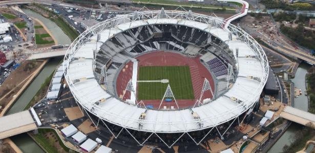 Estádio Olímpico de Londres abrigará as Cerimônias de Abertura e Encerramento e as provas de Atletismo