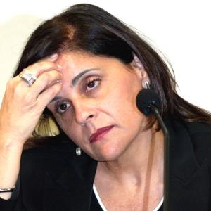 Simone Vasconcelos, ex-funcionária de agência de Valério, foi condenada a 12 anos de prisão - Sérgio Lima/Folhapress