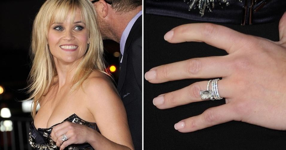 Em 2010, Reese Witherspoon ganhou de Jim Toth um anel de noivado com diamante Ashoka, de formas retangulares e lapidado pelo designer de joias William Goldberg