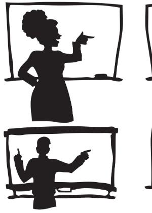 Alternar métodos de ensino (fala, desenhos, perguntas) ajuda o professor a atingir os variados estilos de aprendizado de seus alunos
