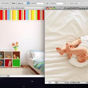 Bebê voador - dicas de Photoshop - ThinkStock