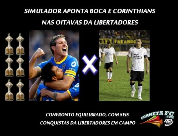 Corneta FC: Equilíbrio de conquistas no duelo Boca x Corinthians