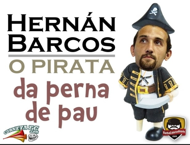 Corneta FC: O pirata da perna de pau