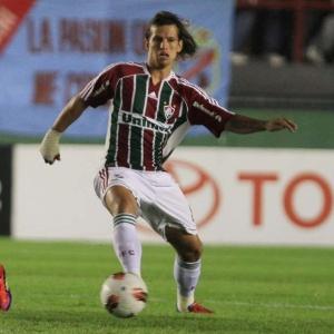 Último jogo de Diguinho pelo Flu foi contra o Internacional, pela Libertadores, no fim de abril