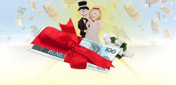 Novo perfil de casais é refletido em listas de presentes que arrecadam dinheiro - Fotomontagem UOL/Thinkstock