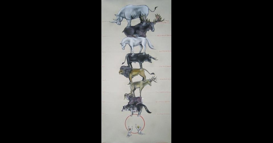 """Obra """"Metastasis"""", da artista Jennifer Murray"""