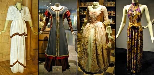 Museu dedicado à história da moda guia visitante por mais de dez períodos diferentes - Claudia Silveira/UOL