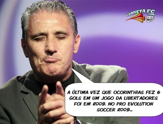 Corneta FC: Lembra da última vez em que o Corinthians marcou seis gols na Libertadores?