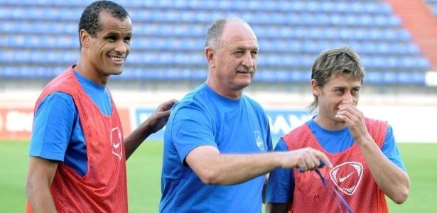 Rivaldo e Felipão no Bunyodkor