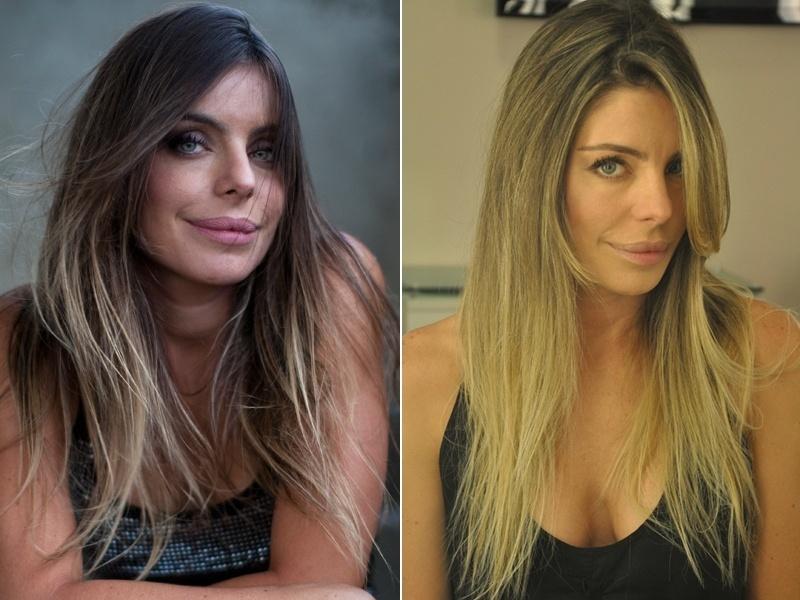 Abril: A apresentadora Daniela Cicarelli, que volta à TV com um novo programa na MTV, mudou os cabelos para celebrar a nova fase profissional. Os fios, antes com uma coloração em estilo ombré, ficaram loiros nas mãoes do cabeleireiro Marcos Proença